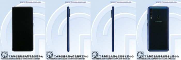 Samsung Galaxy A60 и Galaxy A70: изображения и характеристики с сайта TENAA – фото 1