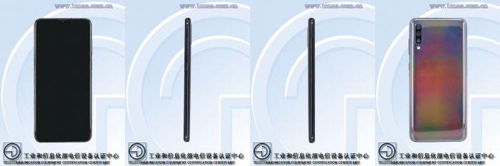 Samsung Galaxy A60 и Galaxy A70: изображения и характеристики с сайта TENAA – фото 2