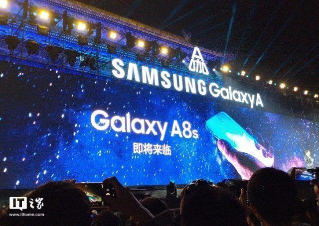 Подробности и фото передней панели Samsung Galaxy A8s – фото 1