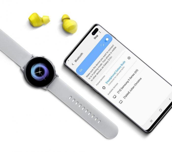 Презентация Samsung Galaxy Unpacked: новые беспроводные наушники и фитнес-браслеты – фото 5