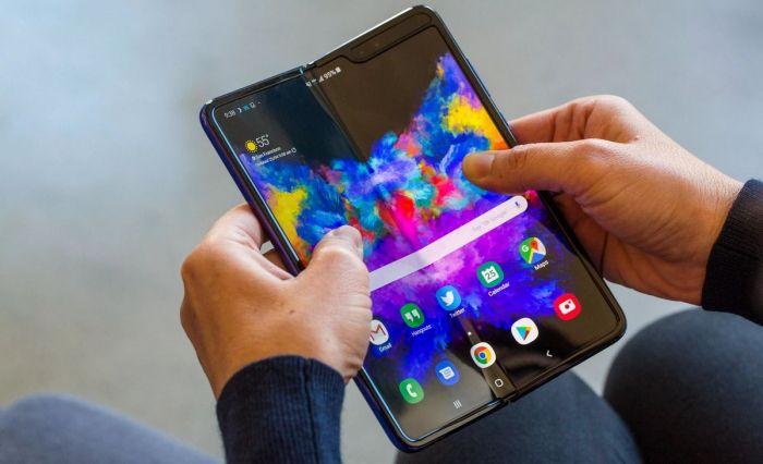 как выглядит Samsung Galaxy Fold, Samsung