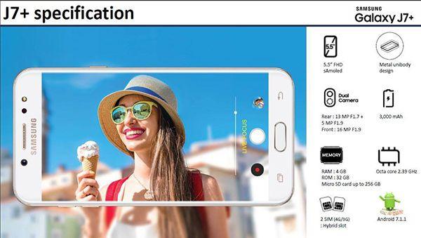 Samsung Galaxy J7+ получит двойную камеру – фото 2