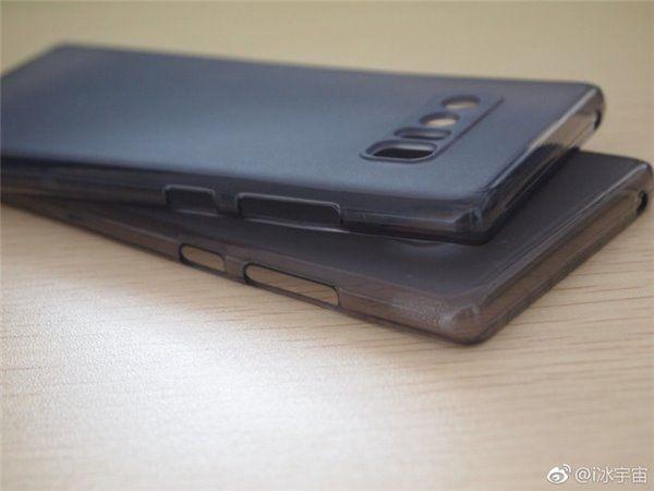 Фото чехла Samsung Galaxy Note 8 с двойной камерой и сканером отпечатков пальцев на тыльной стороне – фото 3