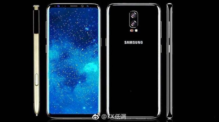 Samsung Galaxy Note 8 замечен на первом рендере – фото 1