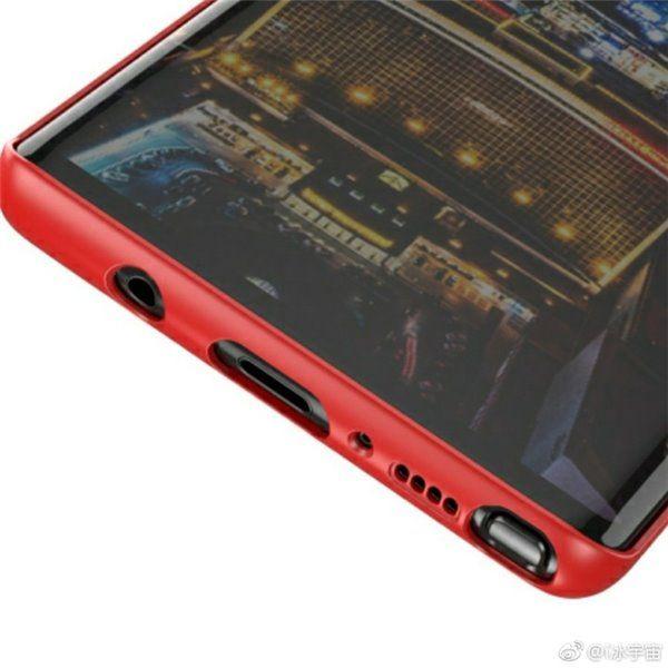 Фото чехла Samsung Galaxy Note 8 с двойной камерой и сканером отпечатков пальцев на тыльной стороне – фото 4