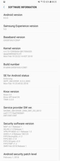 Samsung возобновила обновление Galaxy S8 и Galaxy S8+ до Android Oreo – фото 3