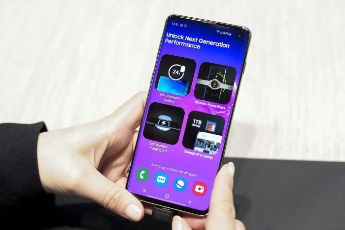 Защитная пленка дезориентирует сканер отпечатков пальцев Samsung Galaxy S10