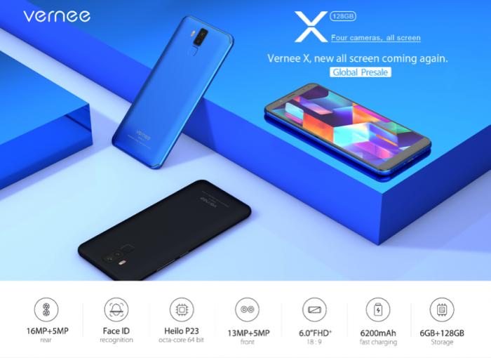 Безрамочный Vernee X с аккумулятором на 6200 мАч получит обновление до Android Oreo – фото 3