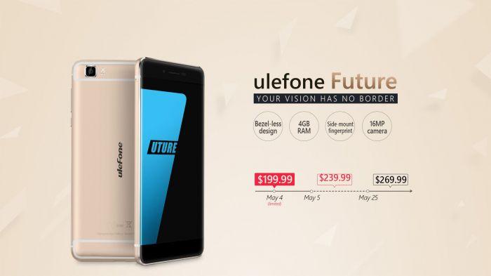 Ulefone Future: старт продаж 4 мая и ценник в $199,99 для первых покупателей – фото 4