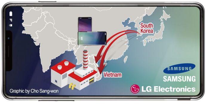 Samsung и LG остановят конвейеры по сборке смартфонов в Южной Корее – фото 2