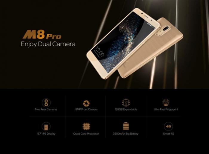 Leagoo M8 Pro можно приобрести со скидкой за $79,99 – фото 3