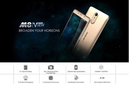 Смартфоны Leagoo M5, M5 Plus и M8 в распродаже в честь Рождества – фото 2