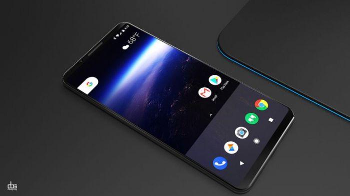 Очередной концепт Google Pixel 2 XL показан на видео – фото 1