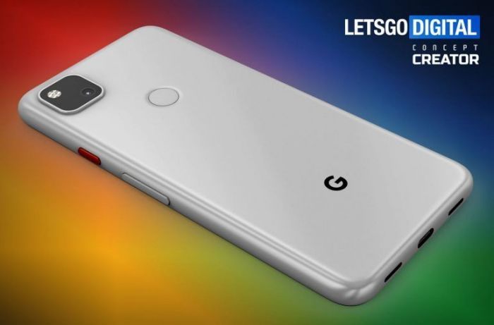 Google Pixel 4a показали на качественных рендерах