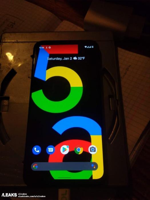 Google Pixel 5a показали вживую – фото 1