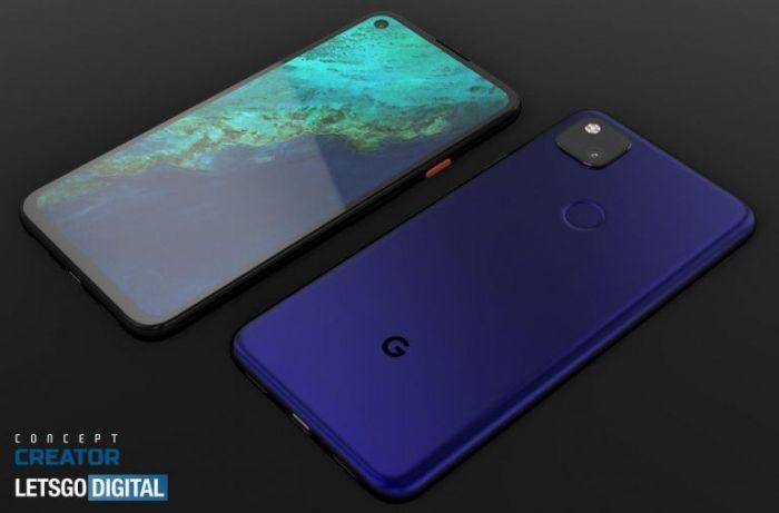 Google Pixel 4a показали на качественных рендерах – фото 4