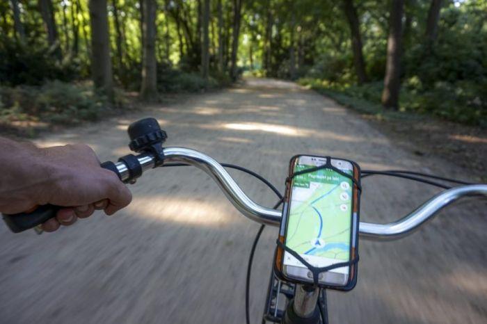Google Maps велосипеды