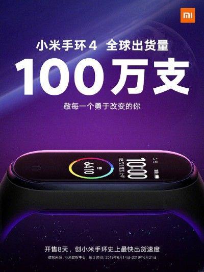 Xiaomi Mi Band 4 бьет рекорды продаж – фото 1