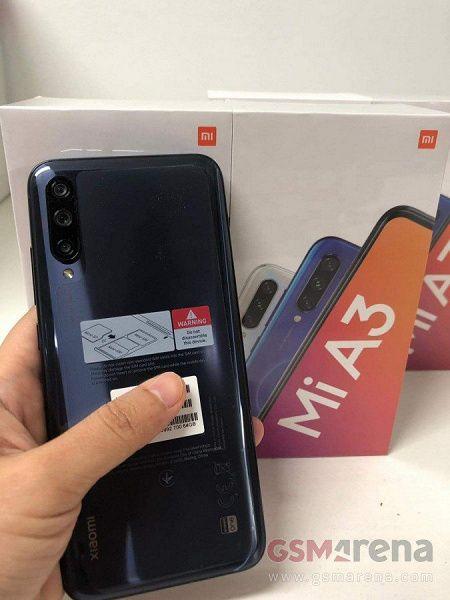 Фото Xiaomi Mi A3 из коробки и характеристики новинки – фото 3