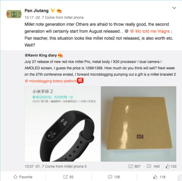 Xiaomi Mi Note 2 и Mi Notebook: очередные подробности – фото 1