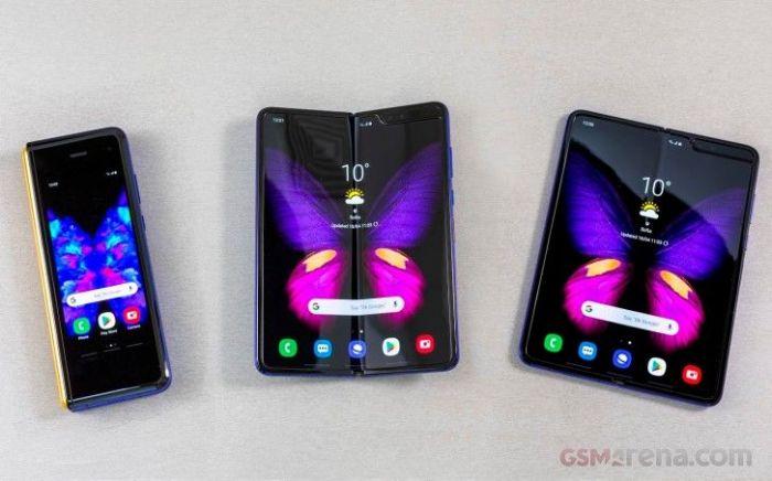 ожидаем первую партию Samsung Galaxy Fold