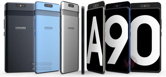 Утечка раскрыла ключевые характеристики Samsung Galaxy A90 – фото 1