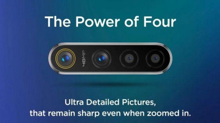 Готовится к дебюту Realme 5s с 48 Мп датчиком