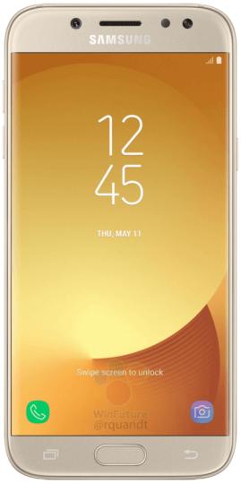 Samsung Galaxy J5 (2017) и J7 (2017) получат 13 МП фронтальную и основную камеру, а также сканер отпечатков пальцев – фото 1
