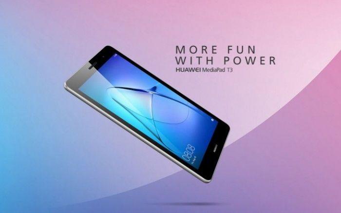 Huawei анонсировала планшеты MediaPad T3 – фото 1