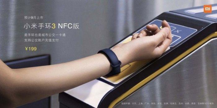 Представлен Xiaomi Mi Band 3 с OLED-экраном и NFC от $26 – фото 3