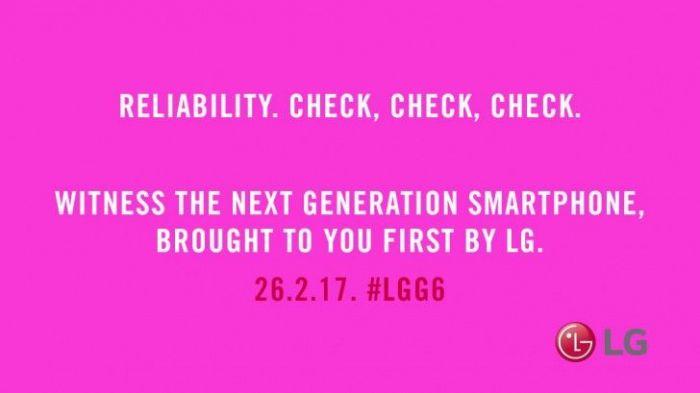LG G6 обещает быть синонимом надежности – фото 1