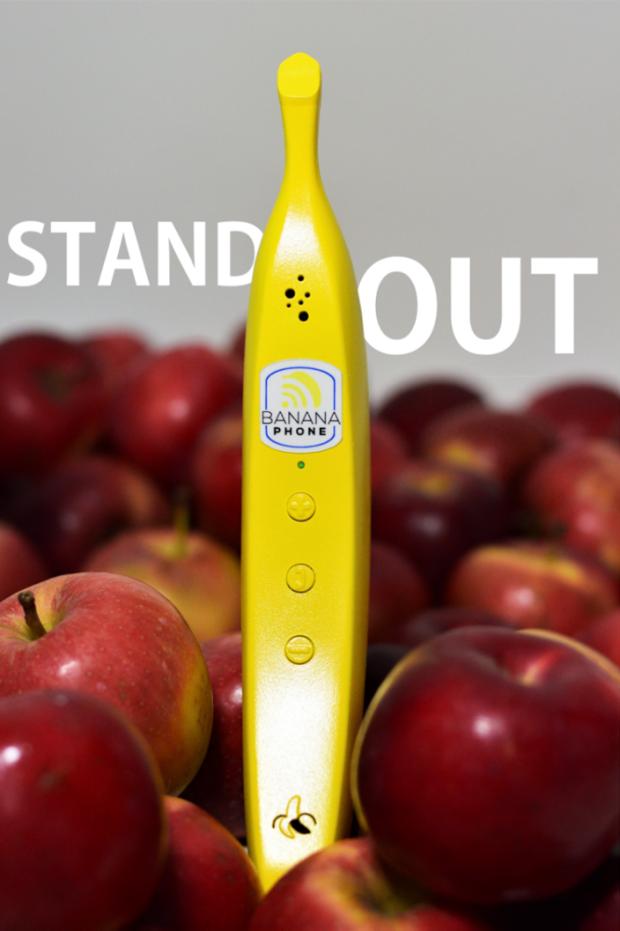 Banane Phone — когда банан научили отвечать и совершать звонки – фото 1