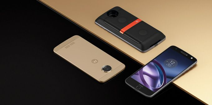 Moto Z с модульными панелями, на базе Snapdragon 820 и без 3,5 мм аудиоджека официально представлен – фото 1