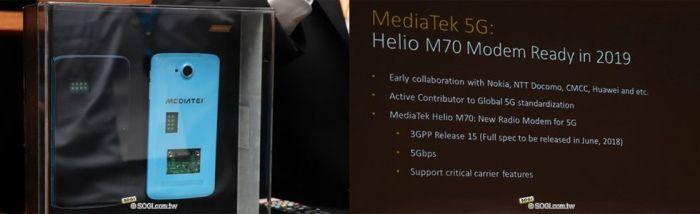 MediaTek представила Helio M70, выполненный на базе новейших технологических стандартов – фото 1
