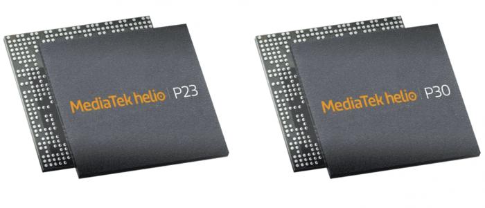 MediaTek анонсировала чипы Helio P23 и Helio P30 – фото 1