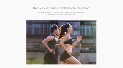 Bluboo Edge сможет измерять частоту сердечных сокращений – фото 2