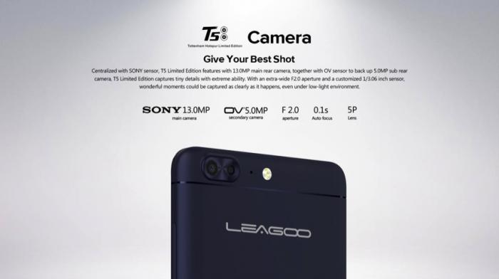 Успей купить эксклюзивный Leagoo T5 THFC со скидкой $100 – фото 3