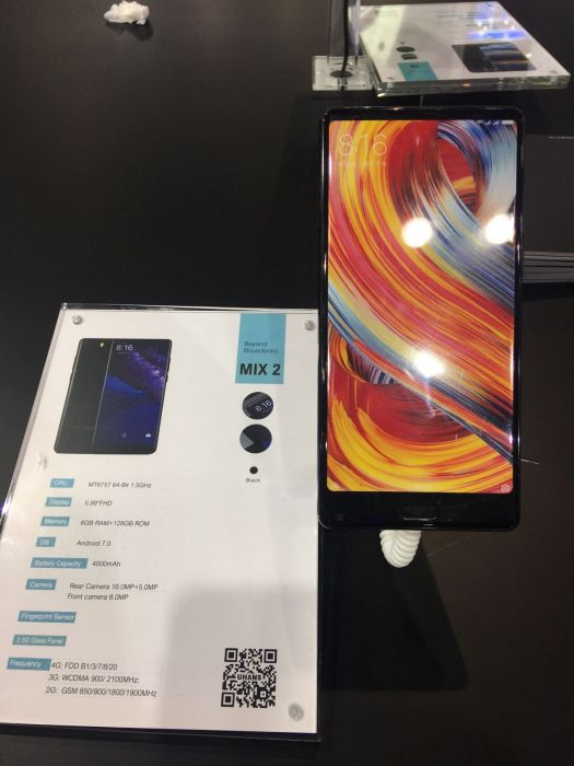 UHANS показала пять смартфонов на выставке Asia World-Expo – фото 2
