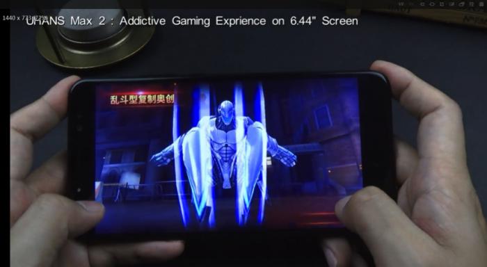 Игровой и визуальный тест 6,44-дюймового UHANS Max 2 – фото 1