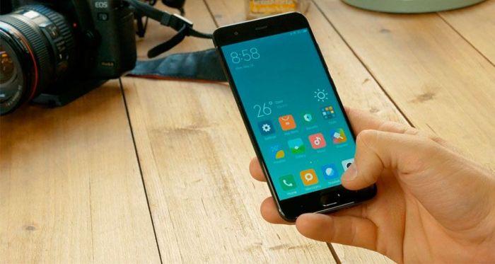 Xiaomi Mi 6 обладает 5,15-дюймовым дисплеем