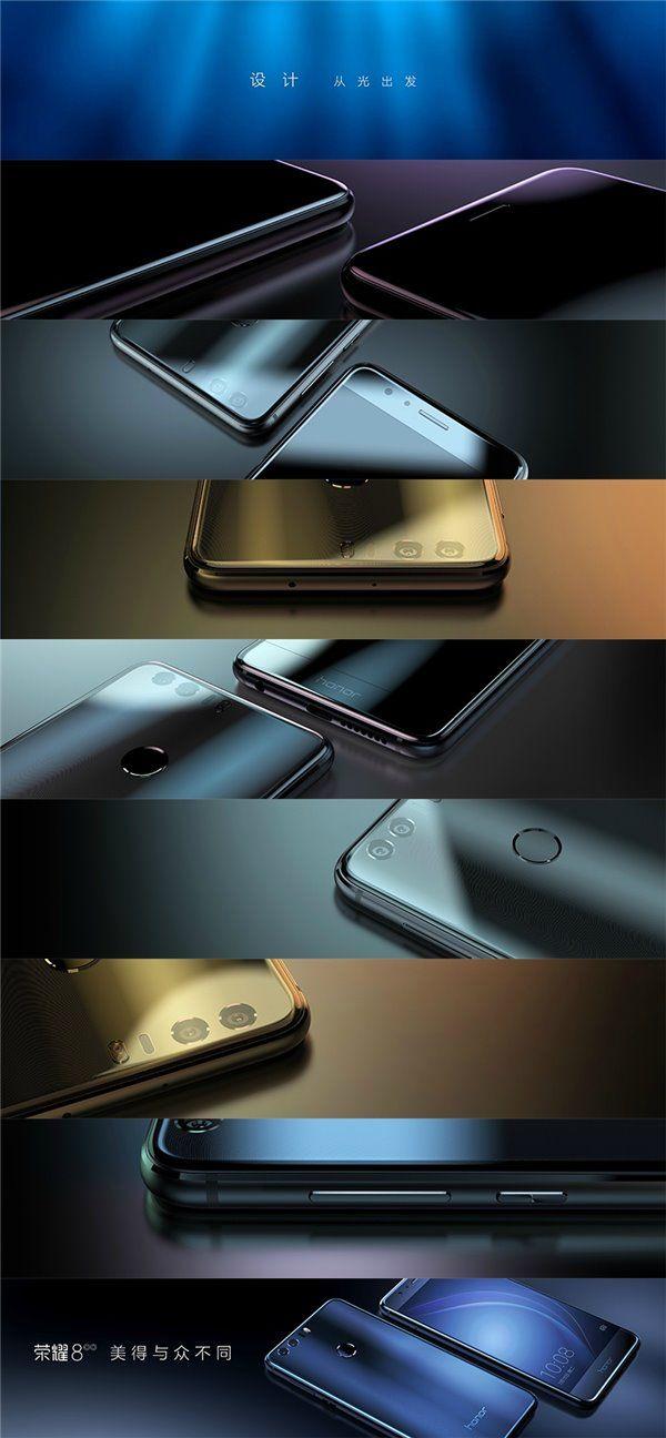 Honor 8 получил стеклянные панели с двух сторон, две тыльные камеры Sony IMX286 и 3 модификации с ценами $299, $344 и $374 – фото 5