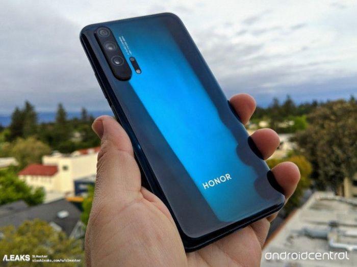 Синий Honor 20 Pro позирует на «живых» снимках – фото 1