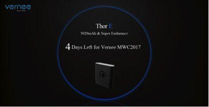 У Vernee все готово для дебюта Thor E, Thor Plus, Apollo 2 и других смартфонов на MWC 2017 – фото 1