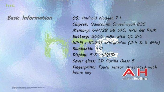 HTC U (Ocean): подробности о технологии Edge Sense, камере и фишках для меломанов – фото 5