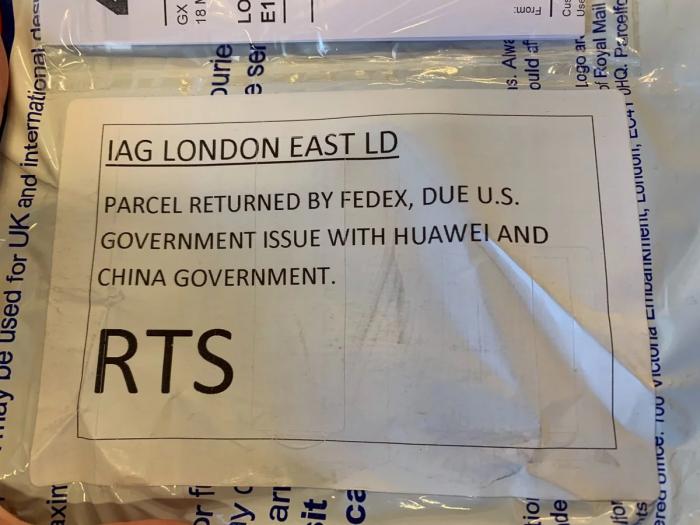 FedEx отказывается доставлять смартфоны Huawei – фото 2
