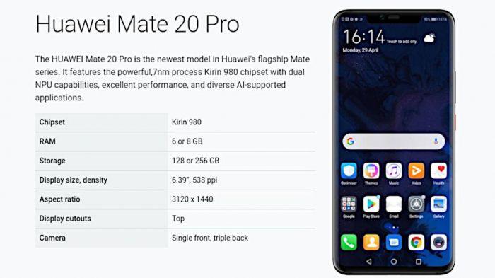 Huawei Mate 20 Pro вернулся в лоно участников Android Q Beta – фото 1