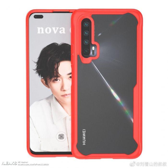 Показали дизайн Huawei Nova 6 – фото 1