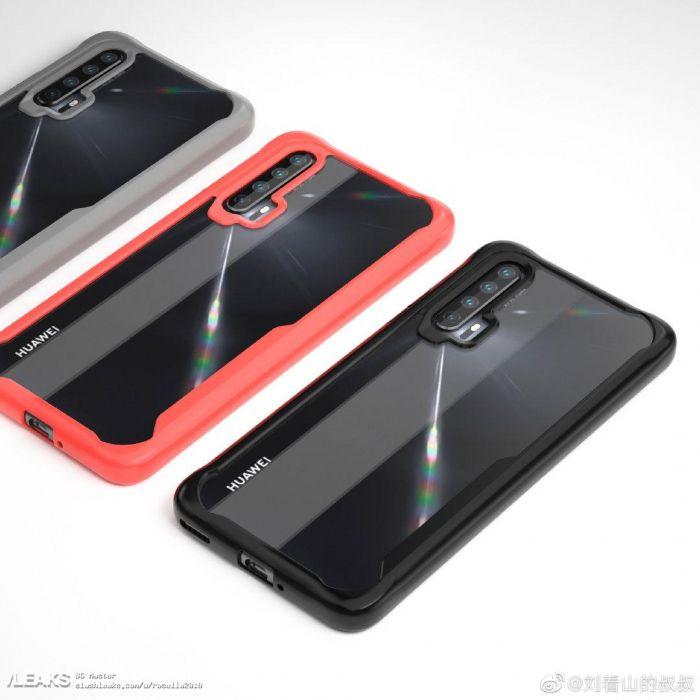 Показали дизайн Huawei Nova 6