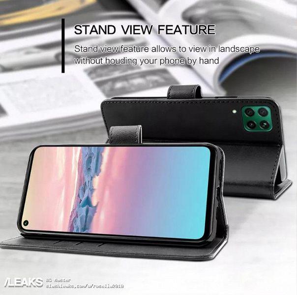 Чехол подтвердил ключевые детали дизайна Huawei Nova 6 SE