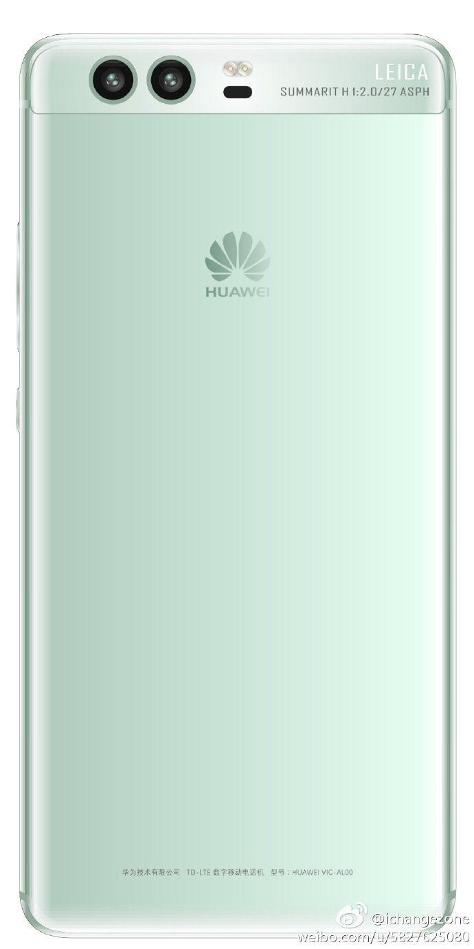Huawei P10 показал еще два своих цвета на рендерах – фото 1